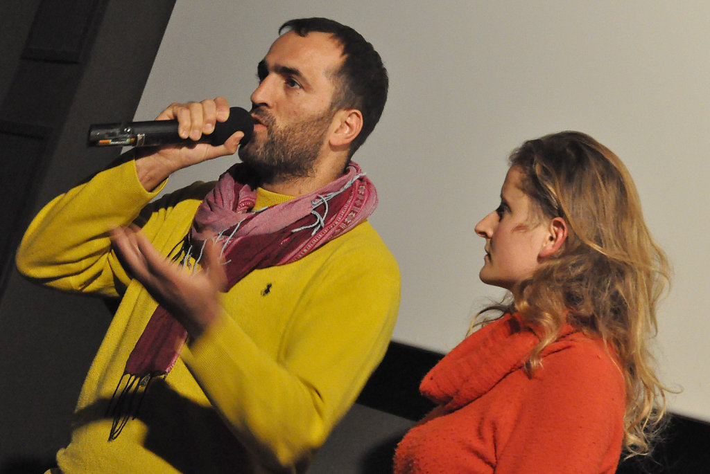 Khaled Jarrar & Laure Fourest